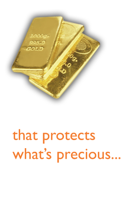 Investment that protects whats precious…